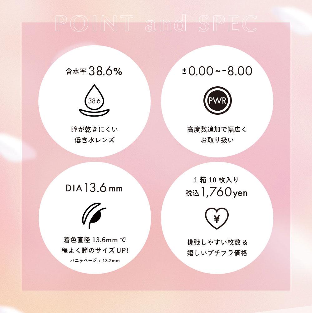 ダイヤワンデーDiya1day 今田美桜カラコンカラーレンズ特徴画像|コスプレカラコン通販アイトルテ