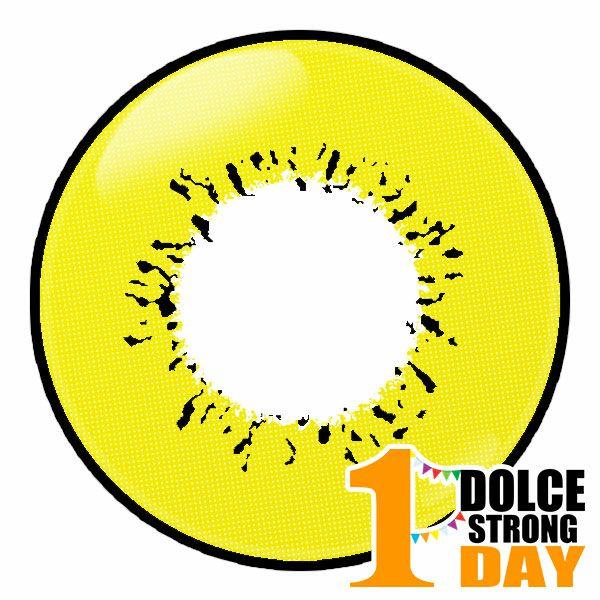 ドルチェ ストロングワンデー ゴールドサンダー レンズ画像 コスプレカラコン通販アイトルテ